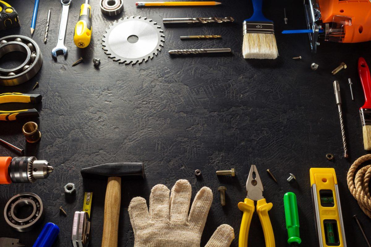Mayoreo Ferretero | Tienda Ferretería Online | Productos Ferreteros Inicio tools and instruments on black PXA86ZL